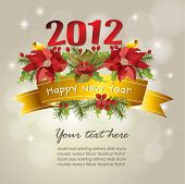 foto of new years celebration  - 2012 New year celebration background - JPG