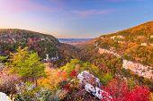 Cloudland Canyon, Georgia, USA autumn landscape at dusk. poster