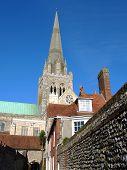Постер, плакат: Чичестер собор Западный Суссекс Англия