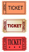 set of tickets