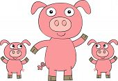 Pig_And_Piglets.Eps