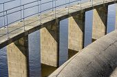 Reservoir Details Water And Brickwork