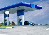 Gas Refuel Station