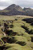 Krafla Volcanic Rifts, Iceland.