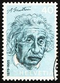 Postage Stamp Switzerland 1972 Albert Einstein, Theoretical Physicist