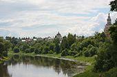 River Tvertsa In City Of Torzhok