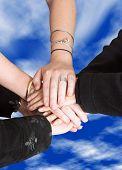 Business Teamwork - Sky