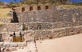 Inca Baths, Stone Architecture,  Tambo Machay