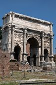 Triumphal Arch Of The Emperor Septimius Severus