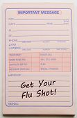 Get Your Flu Shot Important Message