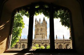 picture of magdalene  - A view of Magdalen College - JPG