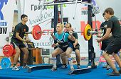 Championship Of Russia On Powerlifting In Moscow.