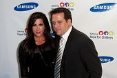 NEW YORK-MAY 29: TV personality Jacqueline Laurita and husband Chris attend the Samsung Hope for Chi