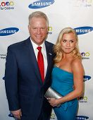 NEW YORK-MAY 29: NFL player Boomer Esiason and daughter Sydney attend the Samsung Hope for Children