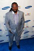 NOVA YORK-29 de maio: Jogador da NFL Willie Colon freqüenta o Samsung Hope para gala de crianças no Cipriani Wall