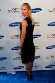 NEW YORK-MAY 29: Model Karolina Kurkova attends the Samsung Hope for Children gala at Cipriani Wall