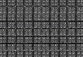 Vintage bass speaker wall background