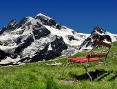 Beautiful mountain Breithorn and Klein Matterhorn