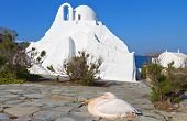 Mykonos island in Greece
