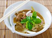 stock photo of malaysian food  - Assam or asam laksa - JPG