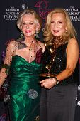 LOS ANGELES - JUN 14:  Tippi Hedren, Judy Blye Wilson attends the 2013 Daytime Creative Emmys  at th