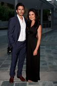 LOS ANGELES - JUN 15:  Brandon Beemer, Nadia Bjorlin attends The Leukemia & Lymphoma Society 2013 Ma