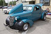 1938 Blue Chevy Coupe