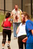 Zombies Menace Runners In Atlanta 5K Race