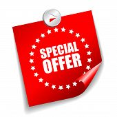 Vector special offer sticker