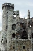 turret ruined castle