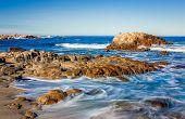 Dreamy Waves Coming Ashore