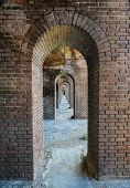 Arches, Fort Jefferson At The Dry Tortugas National Park