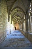 Monasterio de La Oliva claustro