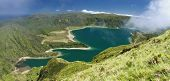 Lagoon of Fire at Sao Miguel, Azores islands 02