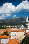 View On Old Town Of Budva. Montenegro, Balkans