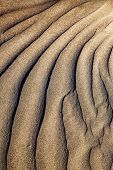 Texture Abstract Of A  Dry Sand