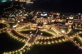 picture of emirates  - Emirates Palace at night - JPG