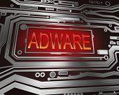 Adware Concept.