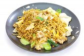 pic of egg noodles  - stir - JPG