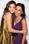 LOS ANGELES - JAN 11:  Bailee Madison, Lacey Chabert at the Hallmark Winter TCA Party at The Hunting