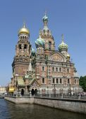 Church Of The Savior On Blood. St. Petersburg, Russia.