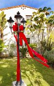Christmas Lantern Garden Mission San Buenaventura Ventura California