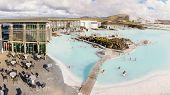 Blue Lagoon - Famous Icelandic Spa And Geothermal Plant