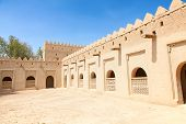Famous Jahili fort in Al Ain oasis, United Arab Emirates