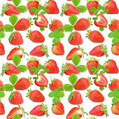 Pattern Of Strawberry