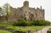 Laugharne Castle exterior, Carmarthenshire