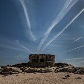 Bunker on the beach