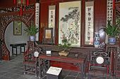 Traditional Chinese Room Interior, Suzhou