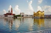 stock photo of sikh  - Photo of the famous golden temple of the Sikh in Amritsar India