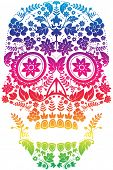 Day of the Dead Sugar Skull Design